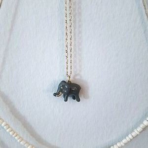 J. Crew 🐘 elephant necklace